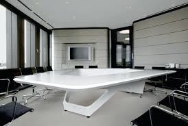 desk office ideas modern. Modern Office Building Facade Design Interior Ideas Cubicles White Table Desk E