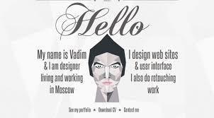 Madebyvadim Single Page Web Designer Portfolio Font Free Download