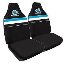 nrl car seat covers cronulla sharks