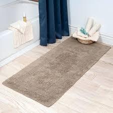 long bathroom rugs brown bathroom rugs nice look 2 extra long reversible bath rug long narrow bathroom rugs