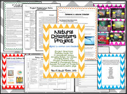 swap and share fourth grade flipper s natural disasters because this product is editable in her store i was able to adjust some of the wording in the project explanation page to fit my classroom s needs