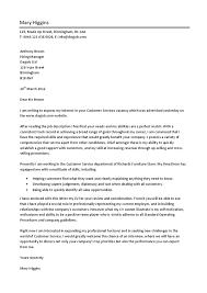 customer service sales cover letter resume cover letter for my cv