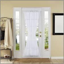 front door side window curtainsFront Doors Ergonomic Front Door Curtain Rod Front Door Curtain