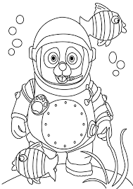 Small Picture Special Agent Oso Coloring Pages Special Agent Oso Coloring Pages