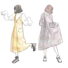 イラストを真似たファッション At Mnlip25さんのイラストから学ぶ最旬