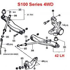 daihatsu hijet front lower a arm lh s100 series (all) 4wd Daihatsu Hijet S65 Wiring Diagram Daihatsu Hijet S65 Wiring Diagram #15