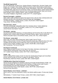 Sincura Concierge Ltd Chrome Members Newsletter October