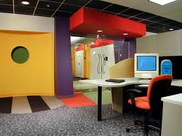 office space colors. Bright Red Yellow Office Paint Color Scheme Design Space Colors T