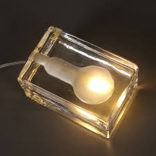 Ice Cube Table Lights Us 71 5 Nordic Ice Cube Bedroom Table Lamp Personality Brick Ice Bar Counter Table Light Creative Fashion Bedside Study Room Desk Lights In Desk