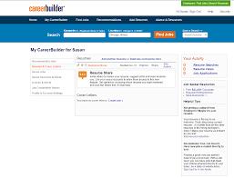 Careerbuilder Resume Search Resume Online Builder