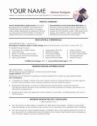Interior Designer Resume Format Best 25 Interior Design Resume