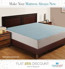 to all these questions are yes then one needs to immediately remove the present bedding and waterproof mattress protectors from homescapes india