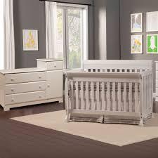 Da Vinci 2 Piece Nursery Set  Kalani Convertible Crib u0026 Combination  Changer  White  FREE SHIPPING DaVinci