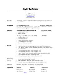 Resume Objective Samples For Any Job Fresh Cute Sample Work Resume