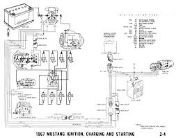 voltage regulator wiring diagram for 1967 mustang ignition charging 12 Volt Relay Solenoid at Typical 12 Volt Chargign System Wiring Diagram