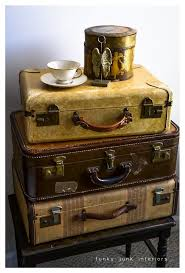 Old Suitcases 302 Best Suitcase Luggage Reclamation Images On Pinterest