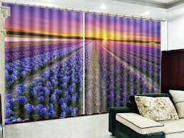 Großhandel Blue Lavender Dreamy Sunset West Schöne Landschaft 3d