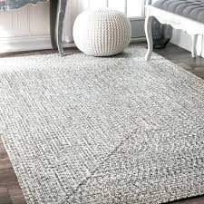 handmade casual solid braided rug x nuloom 8x10 rugs accent 8 10 rzbd16a