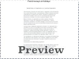 writing an essay in french a level french essay writing skills  writing an essay in french french essays on holidays essay on summer holidays in french formal writing an essay in french