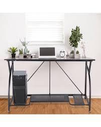 basic office desk. Writing Computer Desk Modern Simple Study Basic Home Office Table (Black) Basic Office Desk K