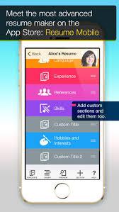 Resume Mobile Pro Design