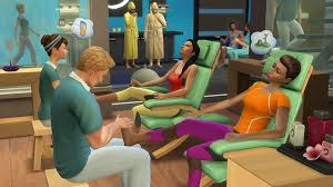 how to make your own spa in the sims 4