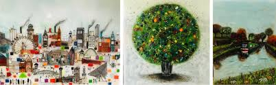 bespoke fused glass art by emma wood