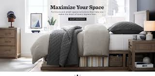 Small furniture for small apartments Wood Shop Bedroom Pottery Barn Furniture For Apartments Small Spaces Pottery Barn