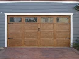 garage door with entry doorCraftsman Style Garage Doors  HomesFeed