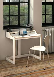 computer desk small. Desks Small Space Desk White Leather Chair Computer Ideas For Spaces .