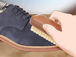how to remove dye from suede shoes