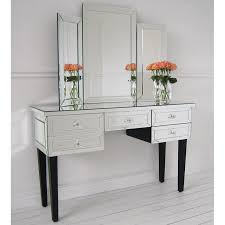 modern mirrored furniture. the dazzling mirror desk modern mirrored furniture s