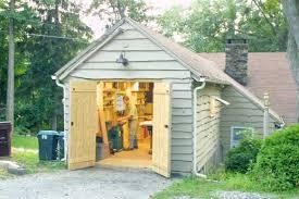 garage workshop layout. smart shop in a one-car garage workshop layout