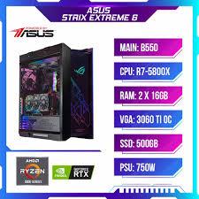 PC Gaming-Máy tính chơi game PCAP ASUS STRIX EXTREME 6