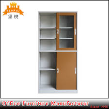china glass door metal school laboratory stationary storage office cabinet china cabinet office cabinet
