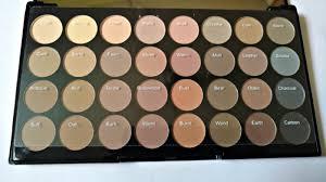 makeup revolution flawless matte ultra 32 shade names