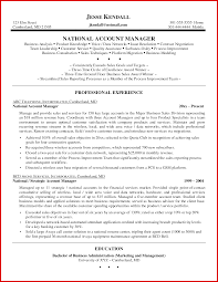 Fresh Account Manager Profile Sample Mailing Format