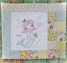 Mermaid Quilt Pattern Magnificent Inspiration