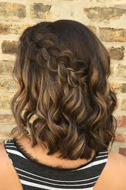 how perfect is this simple elegant braided hairstyle hair by goldplaited easy braided hairstyle half up half down hairstyle short hair