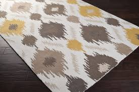 fancy idea yellow and white area rug nice design grey gy vibrant gray handtufted rugs decoration brown black fluffy silver throw orange awesome