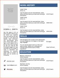 Resume Template Download For Microsoft Word 2007 Refrence Free Cv