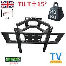 tv wall bracket mount tilt swivel for