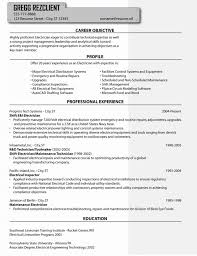 Example Electrician Resume Classy Electrician Resume Format Apprentice Electrician Resume Sample
