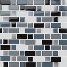 glass blend mesh mounted mosaic