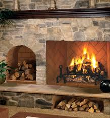 Fireplaceinsertcom FMI Products Direct Vent Gas Fireplace TudorFmi Fireplaces