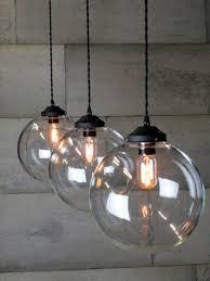 globe lampshade pendant light shades clear glass round pendant light oversized glass pendant