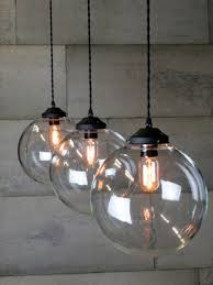 globe lampshade pendant light shades clear glass round pendant light oversized glass pendant