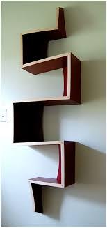 trendy interior furniture zig zag book shelf – modern shelf