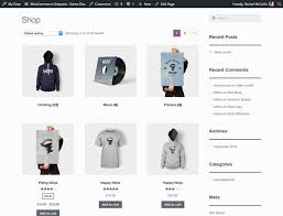 products page how to start an online store wordpress woocommerce