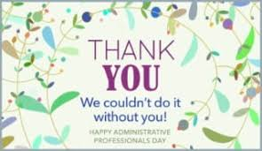 Admin Professionals Day Cards Administrative Assistant Day Card Under Fontanacountryinn Com